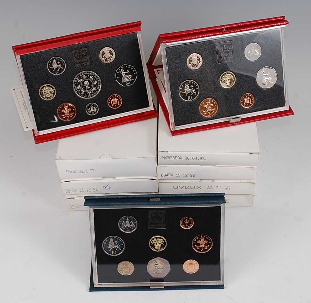 Lot 2011-Great Britain, a collection of ten Royal Mint...