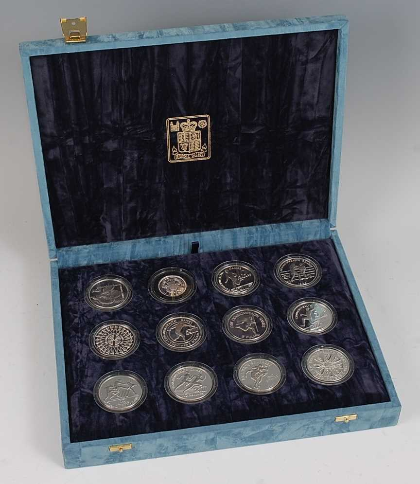 Lot 2020-The Royal Mint, a set of twelve XIII...