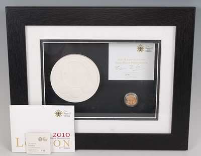 Lot 2026-The Royal Mint, 2010 City Series London £1...