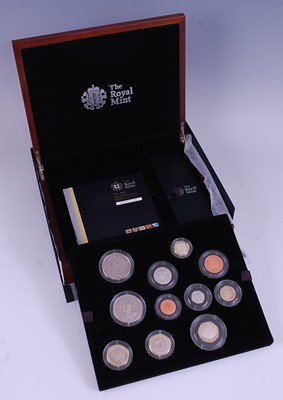 Lot 2027-The Royal Mint 2012 Premium Proof Set, eleven...
