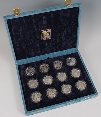 Lot 2029-The Royal Mint, 1991 Cook Islands Endangered...