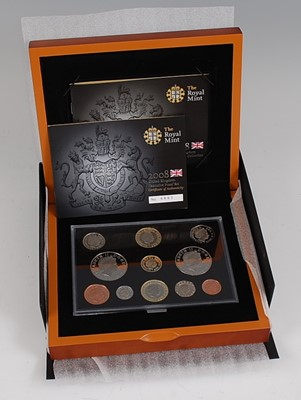 Lot 2030-The Royal Mint, 2008 Executive proof set,...