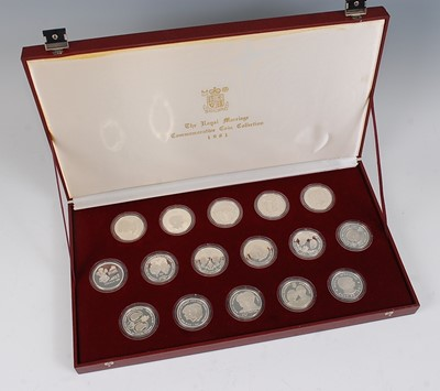 Lot 2034-The Royal Mint, 1981 The Royal Marriage...
