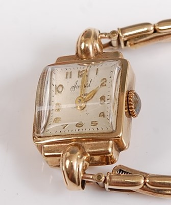 Lot 2511-A 9ct yellow gold lady's manual wind Accurist...