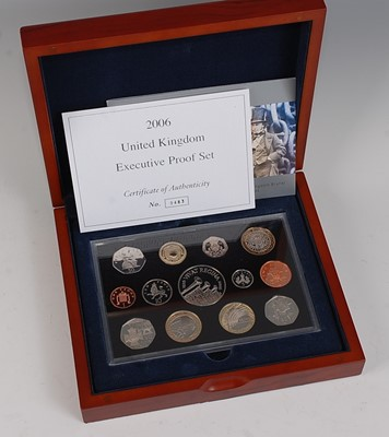 Lot 2035-Great Britain, 2006 Executive Proof Coin...