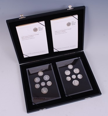 Lot 2040-Great Britain, 2008 Emblems of Britain Silver...