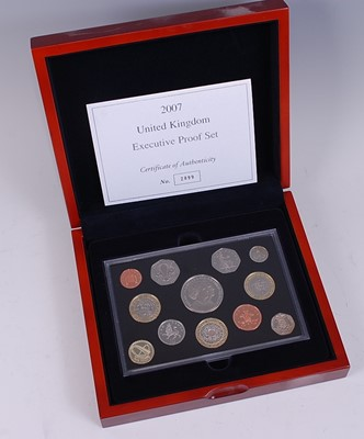 Lot 2042-Great Britain, 2007 Executive Proof Coin...