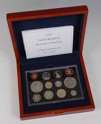 Lot 2046-Great Britain, The Royal Mint 2005 UK...