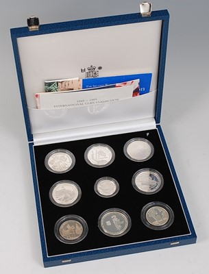 Lot 2048-The Royal Mint, 1945-1995 International Coin...