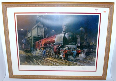Lot 9 - A framed and glazed Cuneo print ' Duchess of...