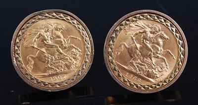 Lot 2145 - Great Britain, 1967 gold sovereign, Elizabeth...