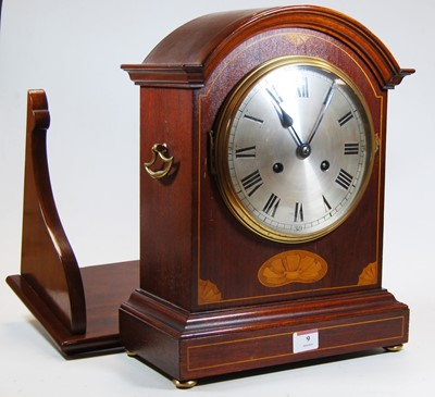 Lot 9-An early 20th century inlaid mahogany cased...