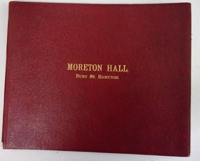 Lot 2020-PALMER CLARKE, J. (Photographer). Moreton Hall,...