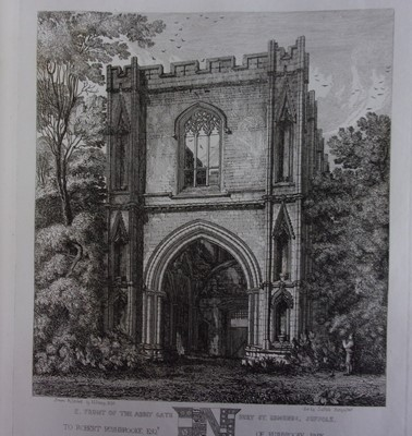 Lot 2021-DAVY, Henry. A Series of Etchings Illustrative...