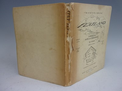 Lot 2022-ABBOTT, Edwin, A. Flatland, A Romance of Many...