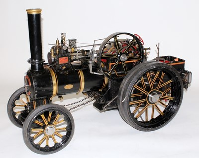 Lot 10A-A very well engineered 2 inch scale live steam...