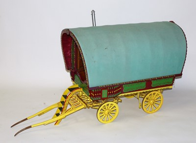 Lot 21 - A very well made wooden and metal constructed...