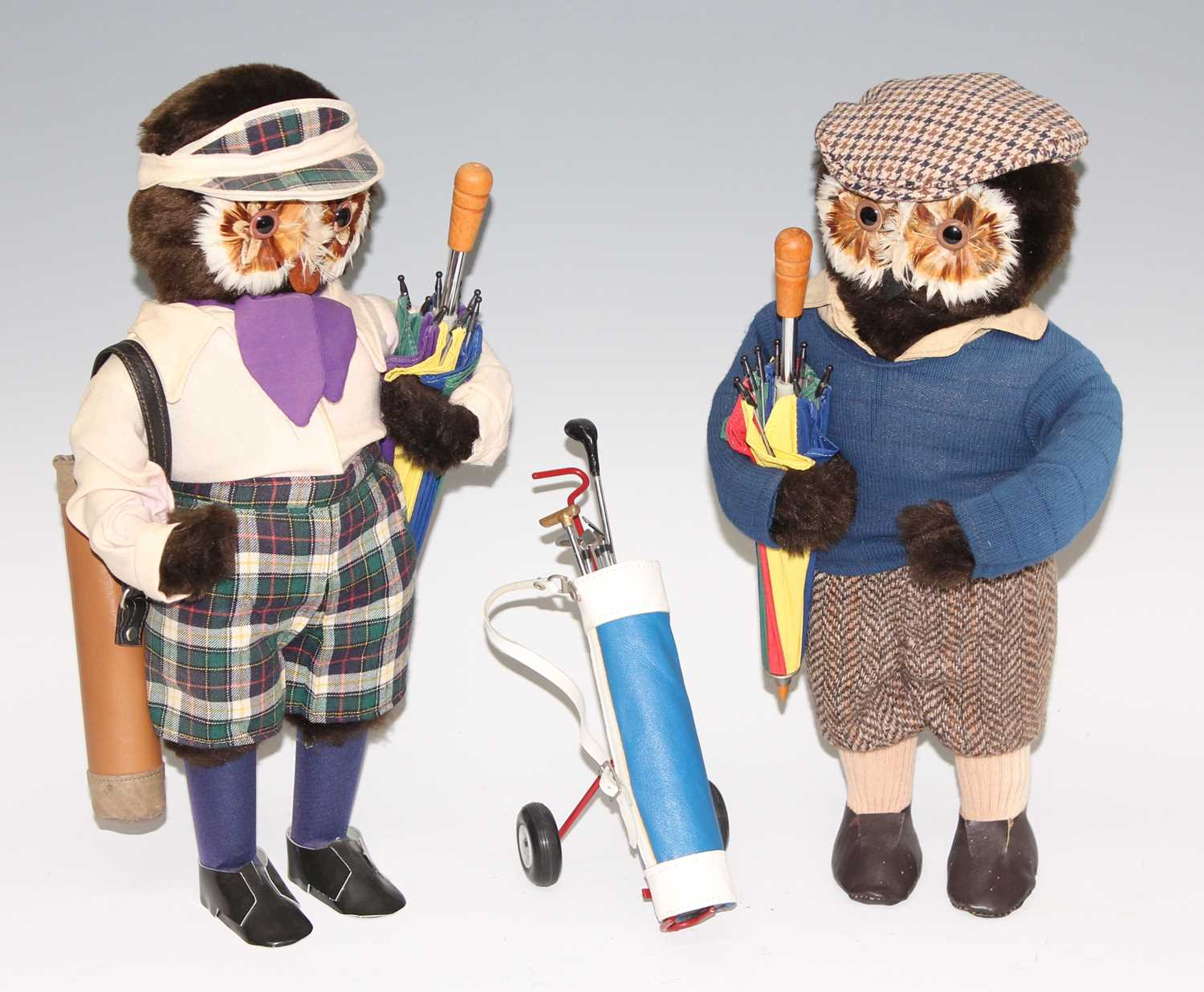 Lot 34 - A pair of Abercrombie & Fitch anthropomorphic...