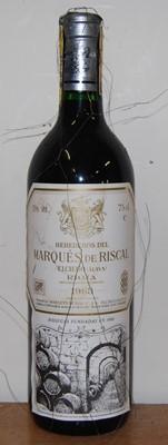 Lot 1020-Marques de Riscal Reserva, 1983, Rioja, five...