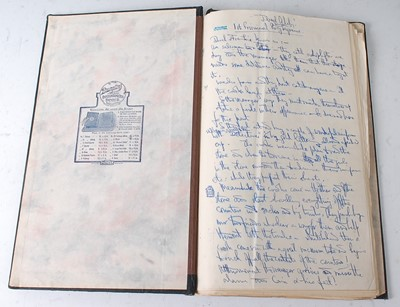 Lot 536 - A typed script for the 1937 film Old Mother...