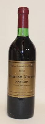 Lot 1037-Château Notton, 1980, Margaux, one bottle