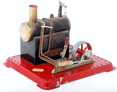 Lot 3 - A small Mamodstationary steam engine with...