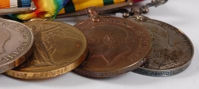 Lot 10 - A Boer War / Great War Gallantry group of...