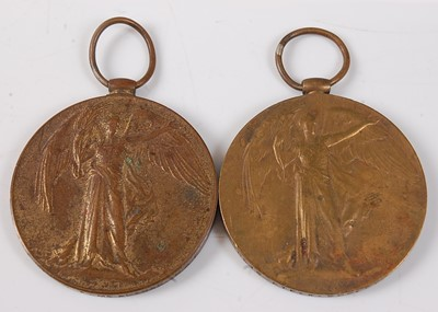 Lot 27-Two WW I Victory medals, naming 30613. PTE. W....