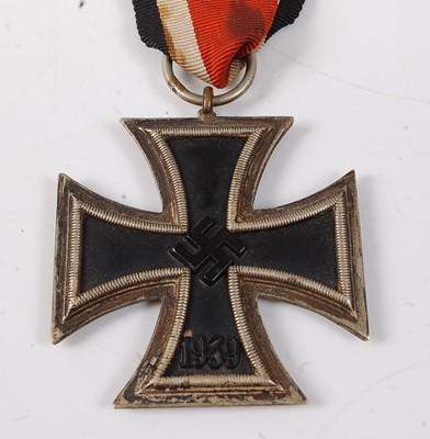 Lot 33-A German Third Reich Iron Cross 2nd class.