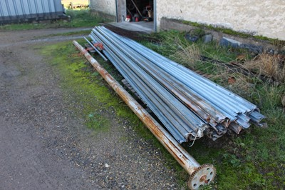 Lot 7-Power Operated Roller Door (top pole needs...