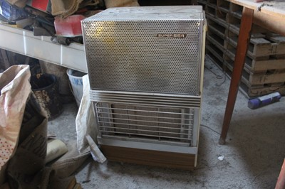 Lot 10-Gas Heater with 2 x 7kg Butane Bottles