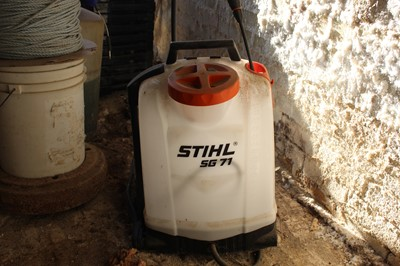 Lot 20-STIHL SG71 Backpack Sprayer