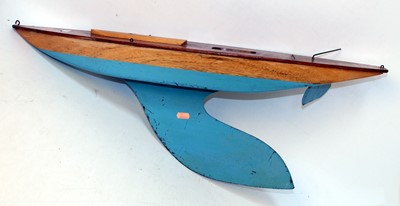 Lot 14 - Bowman yacht hull without mast, with keel,...