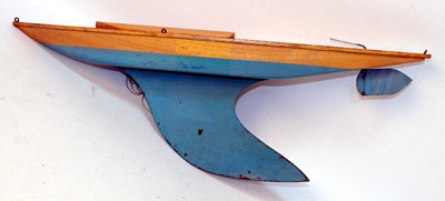 Lot 15 - Bowman yacht hull without mast, with keel,...