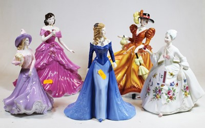 Lot 10 - A collection of three Royal Doulton Pretty...