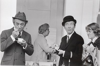 Lot 545 - Carry On Tea Break, 1971, black and white...