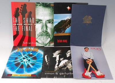 Lot 542 - A collection of various concert, tour and...