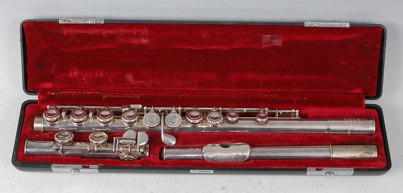 "Lot 504 - A ""Romilly"" Graduate flute made for Rudall..."