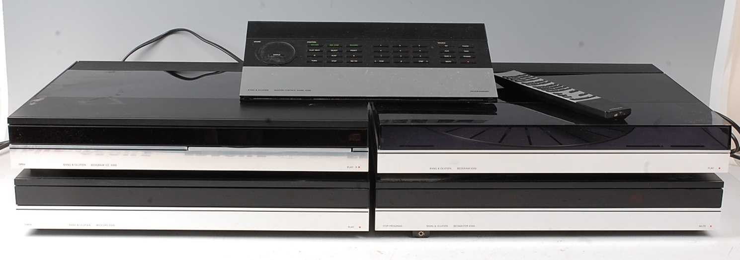 Lot 508 - A Bang & Olufsen separates stereo system to...