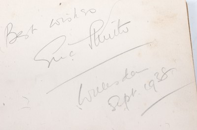 Lot 531 - A collection of signed photographs and...