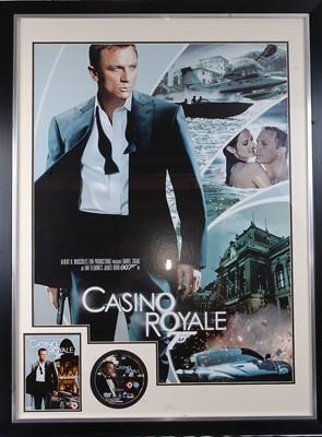 Lot 516 - James Bond, Casino Royale, 2006 poster print...