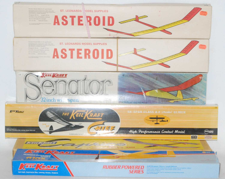 Lot 1015 - Keil Kraft and St Leonards Model Supplies...