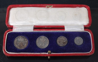 Lot 2117 - Great Britain, 1926 Maundy Money four coin set...