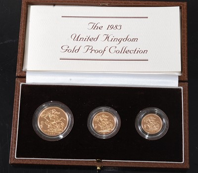Lot Great Britain, Royal Mint The 1983 United...