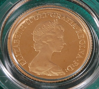 Lot 2001 - Great Britain, Royal Mint UK 1980 Gold Proof...