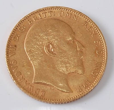 Lot 2006 - Great Britain, 1903 gold full sovereign,...