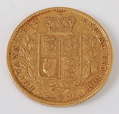 Lot 2028 - Great Britain, 1854 gold full sovereign,...