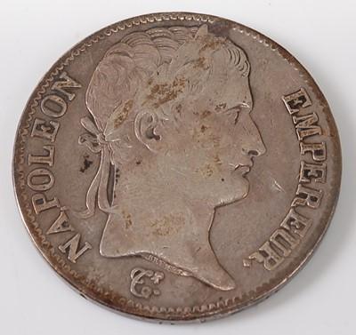 Lot 2088 - France, 1814 5 francs, NapoleonI...