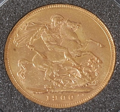 Lot 2029 - Great Britain, 1900 gold full sovereign,...