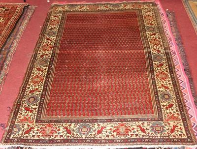 Lot 20 - * A Caucasian woollen Shirvan rug, having a...